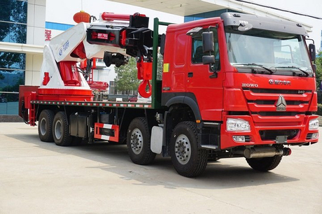 New Condition High Quality 160 Ton Machinery Heavy Duty Crane Truck with arms