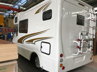 Promotion Price Shell Special Caravan Travel RV Truck for Sale