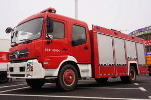 Dong Feng 4x2 7M3 7000 liters 7 cbm 1600 gallons Water Tanker Fire Fighting Truck
