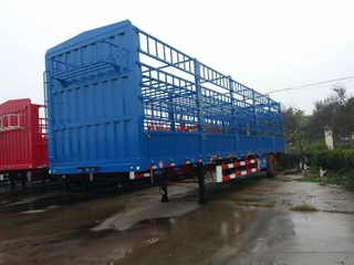2 Axles 3axles 12.5 Meters 11.5 Meters 12 Meters 40ft Side Wall Truck Cargo Semi Trailer