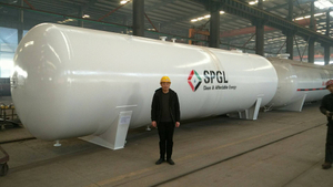 60000 Liters LPG Bulk Storage Tanks for Sale