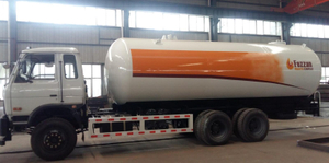 20000Liters Fully Pressurized LPG Propane Delivery Road Truck