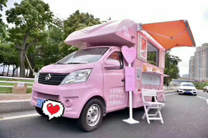 Customized 4*2 outdoor Mobile kitchen Food ice cream hamburger Truck