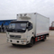DONGFENG 4×2 Refrigerated Truck 3T Cooling Van Truck 5T Freezer Food Transport Box 7T Truck