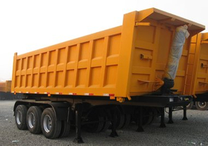 3 Axle 24CBM 40 Ton Tipping Dump Tipper Semi Trailer