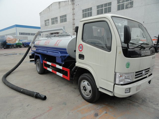 2WD 6 Wheels 5tons Dongfeng 4x2 Vacuum Fecal Suction Truck