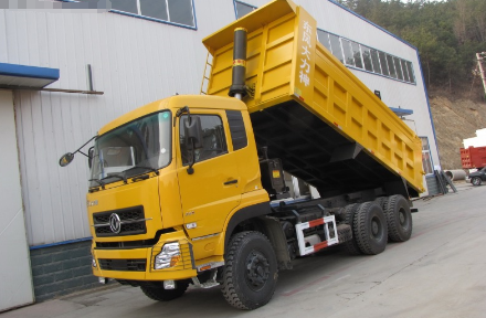 CLW Brand DONGFENG 6X4 340HP Dump Truck