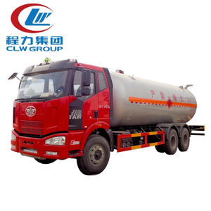Fully Pressurized 16 Cubic Meters LPG Propane Delivery Road Truck