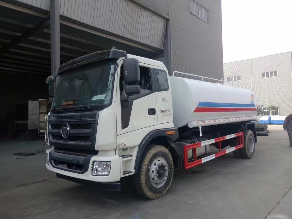 How to maintenance water tank truck?