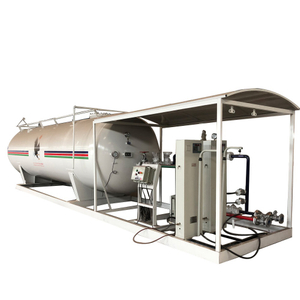 50000 Liters LPG Cylinder Filling Station for Africa Market