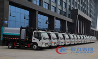 Chengli Group's 120 Sanitation Garbage Trucks Were Successfully Delivered