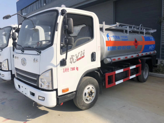 Faw 4x2 5m3 Fuel Tank Oil Transport Truck
