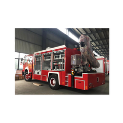 4*2 Diesel Rescue Fire Truck With Crane Emergency Fire Fighting Truck